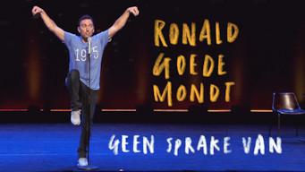 Ronald Goedemondt - Geen Sprake Van (2018)