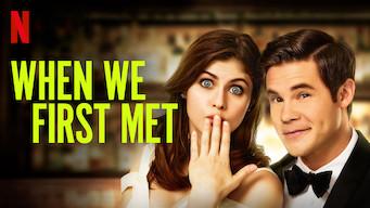 When We First Met (2018)