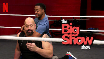 The Big Show Show Poster