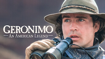 Geronimo: An American Legend Poster